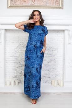 Длинное летнее платье Angela Ricci
