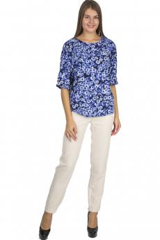 Синяя блузка Bast